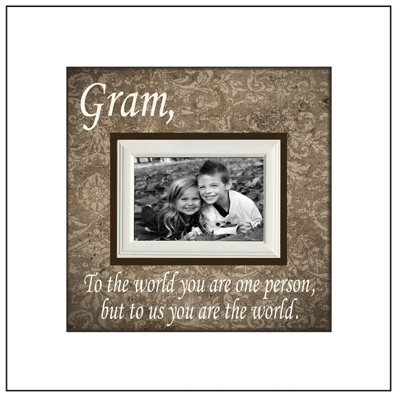 Mother's Day Grandparent Gift ~ Picture Frame For Grandma ~ Personalized Grandmother Gift~ Mimi - MemoryScapes Personalized and Customized Picture Frame