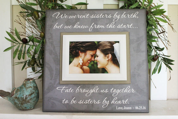 Bridesmaid Gifts | Bridesmaid Proposal | Personalized Wedding Gift | Picture Frames | Custom Quote Print | MemoryScapes Magnetic Frames - MemoryScapes Personalized and Customized Picture Frame
