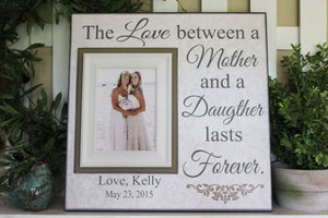 Mother Daughter Personalized Picture Frame Gift | MemoryScapes - Memory Scapes