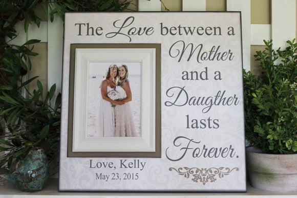 Mother Daughter Personalized Picture Frame Gift | MemoryScapes - MemoryScapes Personalized and Customized Picture Frame