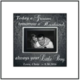 Personalized Wedding Frame ~ Custom Wedding Frame ~ Mother of the Groom Gift ~ Thank You Gift ~ Mother in Law Gift ~ Personalized Wedding - Memory Scapes