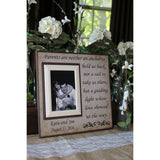 Parents Wedding Thank You Gift ~ Mother and Father of the Bride ~ Father and Mother of the Groom ~ Personalized Wedding Frame - MemoryScapes Personalized and Customized Picture Frame