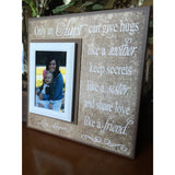 Aunt Gift From Kids | New Aunt Gift Ideas | Aunt Gifts From Niece| Auntie Is My Bestie | Best Aunties | Aunt Gifts for Birthday | Aunty - MemoryScapes Personalized and Customized Picture Frame