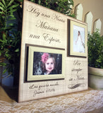 SPANISH Gift From Bride To Parents ~ Father of the Bride Gift ~Mother of the Bride~ Thank You~ Mother Daughter Wedding~ Parents of the Bride - MemoryScapes Personalized and Customized Picture Frame