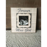 "READY TO SHIP!! Frame for Ma ~ Personalized ~ Customized ~Forever Ma's Girl 8""x8"" Picture Frame- - MemoryScapes Personalized and Customized Picture Frame"