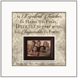 Best Teacher Gifts 2017 | Personalized Teacher Gift From Class | Xmas Gift Ideas For Teachers | Teacher Thank You Gift Ideas | Picture Frame - Memory Scapes