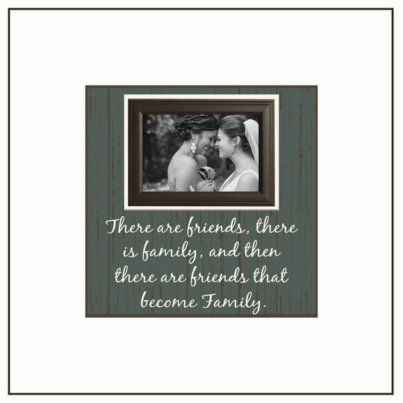 Best Friend Birthday Gift Ideas ~ Maid of Honor Gift ~ Thank You Wedding Gift For Bridesmaids ~Personalized Wedding Frame ~ Sister in Law - Memory Scapes