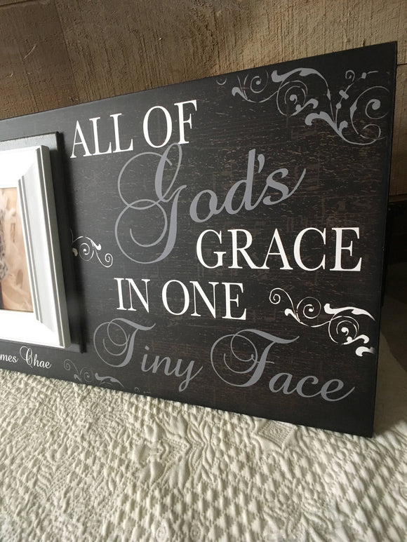 Baby Christening Gifts  For Godfather | Baby Baptism Gifts For Godmother | Personalized Godparent Gift Ideas | Personalized Nursery Frame - MemoryScapes Personalized and Customized Picture Frame