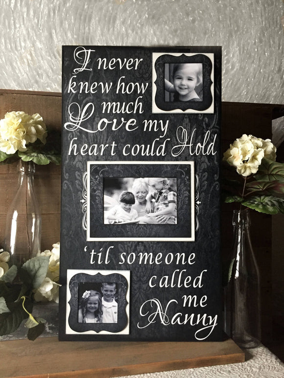 Unique Gifts For Grandma | Gift From Grandchildren | Picture Frame From Grandchildren | Custom Gift Ideas For Grandma | Grandmas Xmas Gifts - MemoryScapes Personalized and Customized Picture Frame