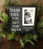 Grandfather Gifts | Best Gifts for Grandparents | Gift From Grandchildren | Grandpa Gifts | Gift for Grandfather | Grandfather Birthday Gift - MemoryScapes Personalized and Customized Picture Frame