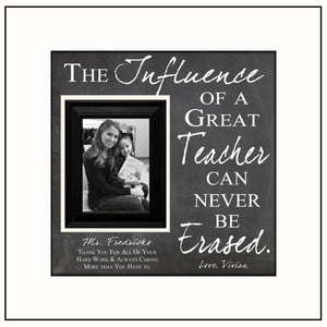 Teacher Gift Ideas | Personalized Teacher Frame | Customized Teacher Gift Ideas | Teacher Gifts 2018 | Teacher Name Signs | Class of 2017 - Memory Scapes