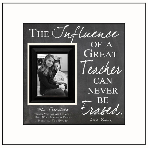 Teacher Gift Ideas | Personalized Teacher Frame | Customized Teacher Gift Ideas | Teacher Gifts 2018 | Teacher Name Signs | Class of 2017 - MemoryScapes Personalized and Customized Picture Frame