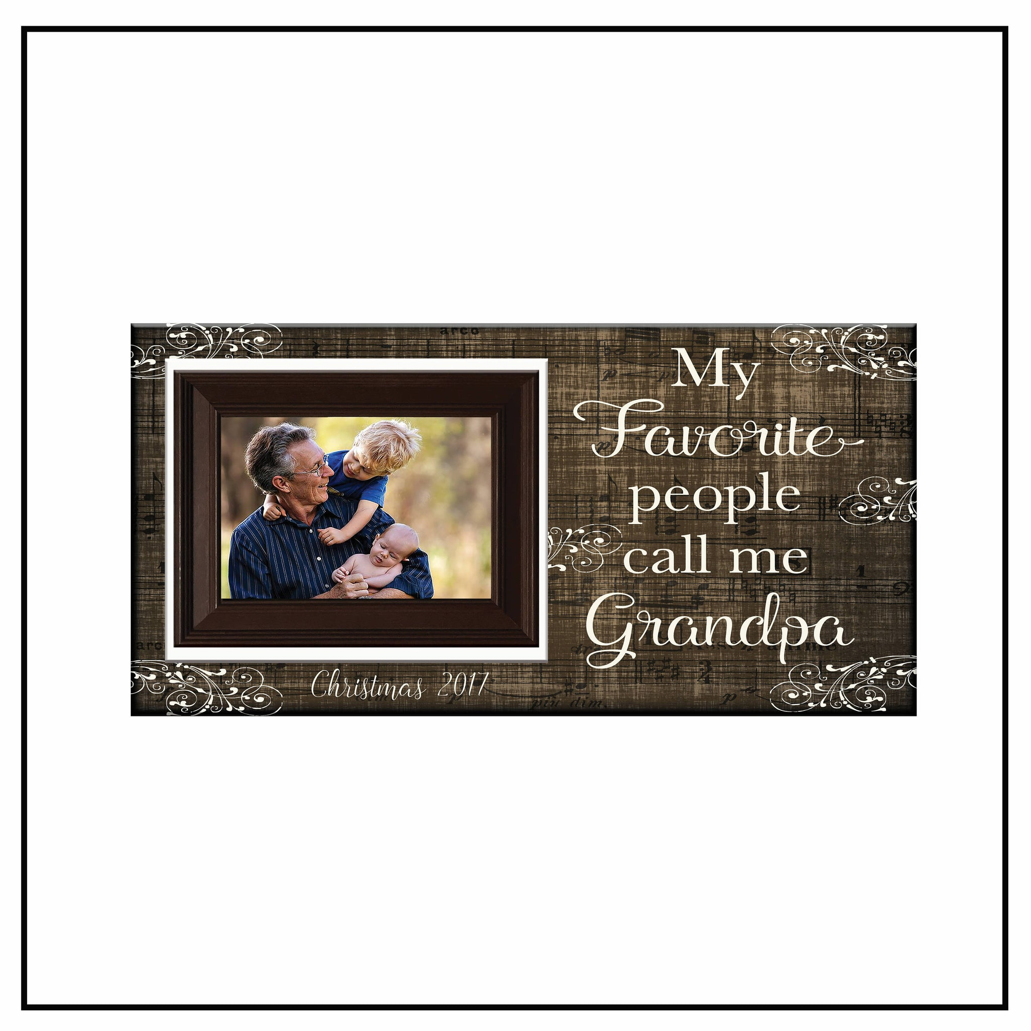 Great Grandad Photo Picture Frame Fathers Day Birthday Christmas Grandpa Gifts