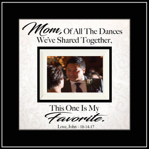 Mother of the Groom Dance Picture Frame Wedding Gift | MemoryScapes - MemoryScapes Personalized and Customized Picture Frame