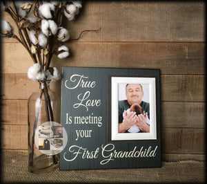 New Grandparent | Unique Gift For Grandparents | First Grandchild Frame | Grandma Gifts | Grandmother Art Gift | New Baby | New Grandma - Memory Scapes