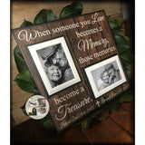 Loss of Both Parents Loss of Two Memorial Photo Frame  | MemoryScapes - Memory Scapes
