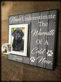 Personalized Dog Picture Frame | Pet Frame | Personalized Dog Frame| Personalized Pet Picture Frame | Furbaby | Custom Frame | #74 - MemoryScapes Personalized and Customized Picture Frame
