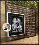 Bridesmaid Gifts | Bridesmaid Proposal | Maid Of Honor Gift | Bridesmaid Thank You | Personalized Wedding Picture Frame | Forever Friends - MemoryScapes Personalized and Customized Picture Frame