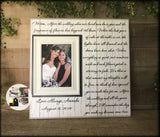 Personalized Mother of the Bride Gift | Best Mother of the Bride Gifts | Mother of the Bride Gift Ideas | Mom Gift From Bride | Wedding Day - MemoryScapes Personalized and Customized Picture Frame