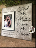 Mom Thank You ~ Wedding Gift For Mom ~Mother of Bride ~ Personalized Wedding Frame ~ Mother of the Groom ~ Mother in Law ~ MemoryScapes| #20 - MemoryScapes Personalized and Customized Picture Frame