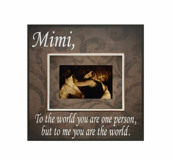 Grandparent Gift from Grandchildren ~ Picture Frame For Grandma ~ Personalized Grandmother Gift - MemoryScapes Personalized and Customized Picture Frame