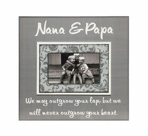 Grandparent Xmas Gift from Grandchildren ~ Picture Frame For Nana & Papa ~ Personalized Grandmother ~ Grandfather Mimi ~ Papaw ~ Customized - Memory Scapes