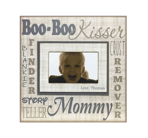 Gift for My Mommy | Customized Photo Frame for Mom | Mother's Day Gifts For Mom Ideas | Mother's Day Gift For Mommy From Kids - MemoryScapes Personalized and Customized Picture Frame