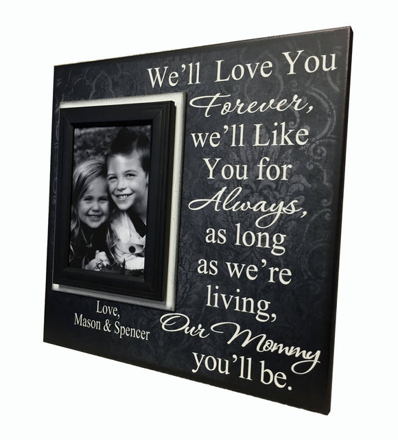 Gift to Mom From Toddler Personalized Photo Frame | MemoryScapes - Memory Scapes