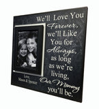 Gift to Mom From Toddler Personalized Photo Frame | MemoryScapes - MemoryScapes Personalized and Customized Picture Frame