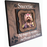 Pet Loss Frame | Pet Memorial Ideas | Dog Loss Gift Ideas | Pet Sympathy Gift Ideas | Pet Loss Remembrance | Loss of A Dog Gifts | Dog Loss - Memory Scapes