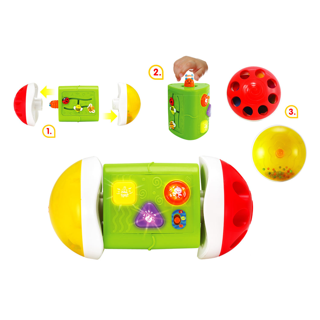 Roll & Learn 3 in 1 Baby Activity Center