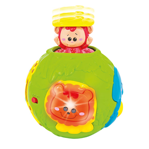 Jungle Animal Roll & Learn Activity Ball
