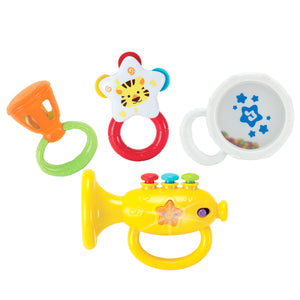 Rattle Musical Instruments Set with Trumpet