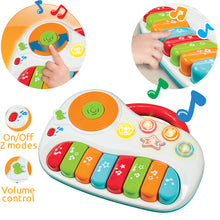 Baby Piano with DJ Mixer