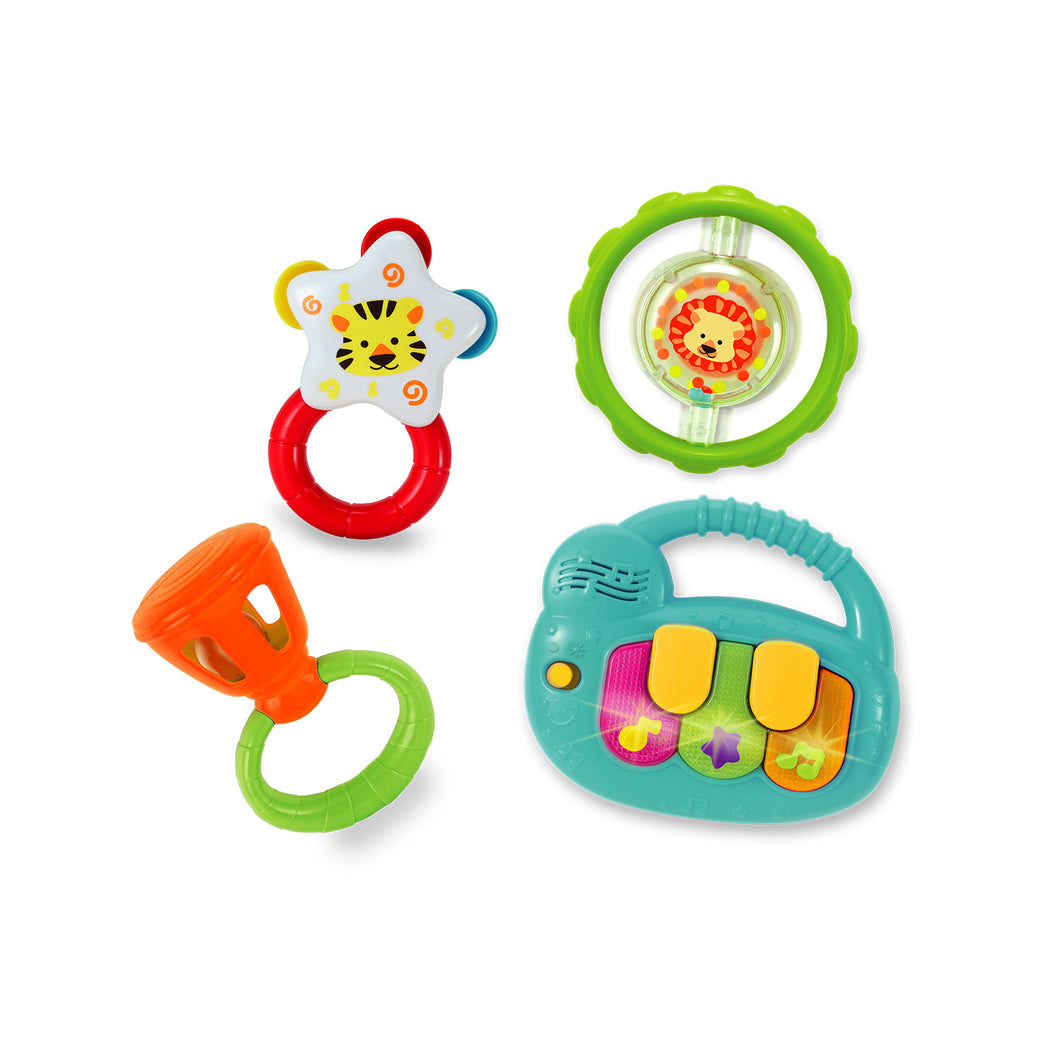 Rattle Musical Instruments Set with Keyboard
