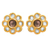 Traditional Ethnic One Gram Gold Plated Kundan Designer Earring for Women & Girls