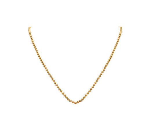 JFL-Traditional & Ethnic Classic One Gram Gold Plated Chain for Women/Girls & Men