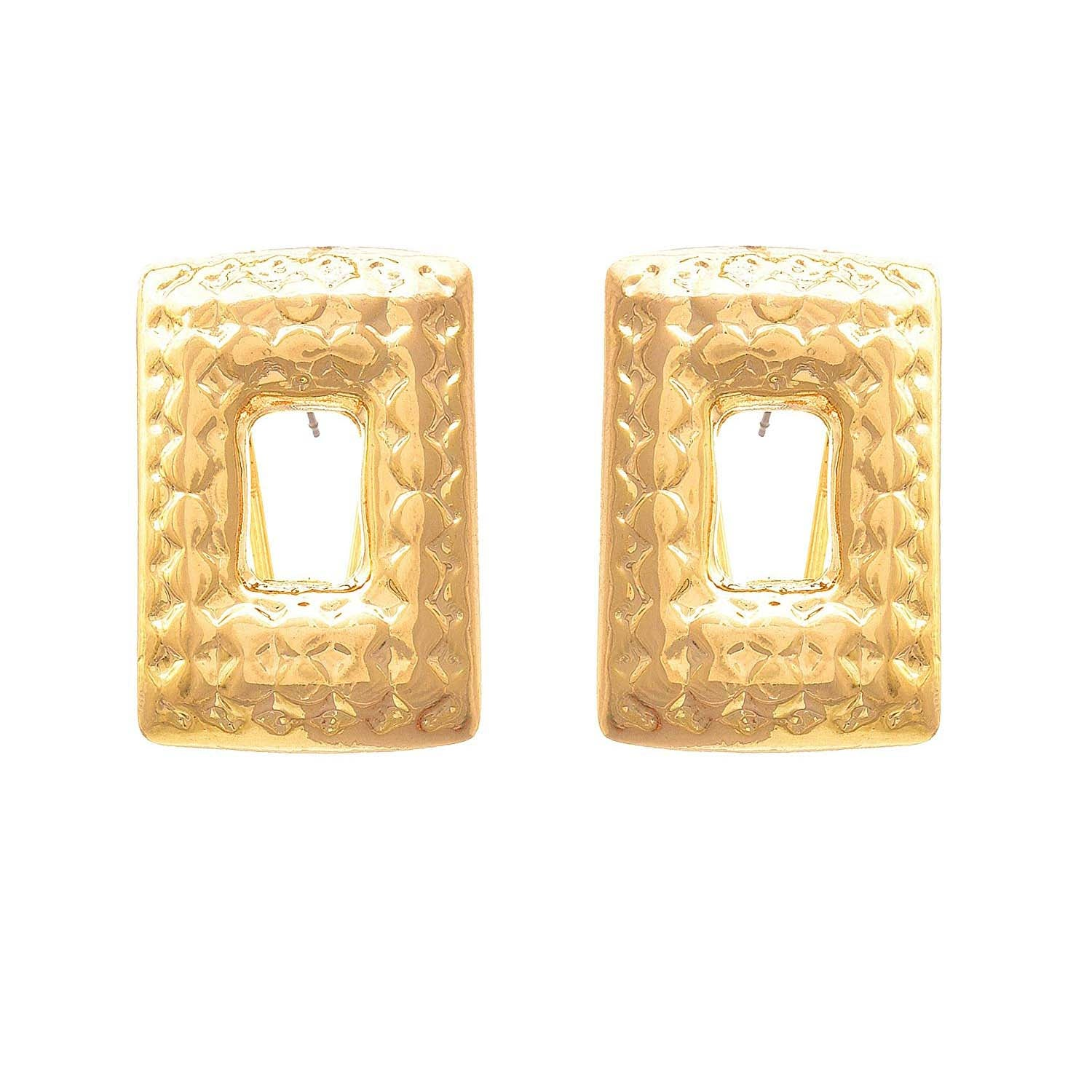 JFL - Jewellery for Less Fusion Ethnic One Gram Gold Plated Earring For Women & Girls.