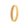 JFL-Traditional Ethnic Stunning Spiral One Gram Gold Plated Designer Bangle Set For Girls And Women