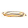JFL - Jewellery for Less Traditional Ethnic 1g Gold Plated Bangle for Women - Set of 4