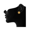JFL - Fab Floral Designer One Gram Gold Plated Earrings for Girl & Women