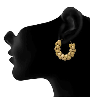 JFL -Traditional Ethnic One Gram Gold Plated Designer Bali Earring for Women & Girls