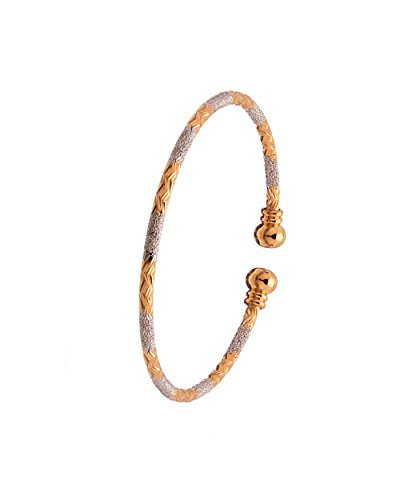 Bfc Gold Copper Cuff & Kadaa Bangle For Women