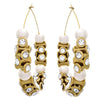 JFL - Traditional Stylish Ethnic One Gram Gold Plated Diamond & Pearl Designer Bali Earring for Women & Girls
