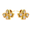 JFL - Jewellery for Less One Gram Gold Plated Kundan Diamond Designer Earring For Women & Girls