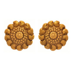 JFL - Jewellery for Less Traditional Ethnic One Gram Gold Plated Designer Stud Earring For Women And Girls.