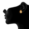 JFL - Traditional Ethnic One Gram Gold Plated Kundan Designer Stud Earring for Women & Girls.
