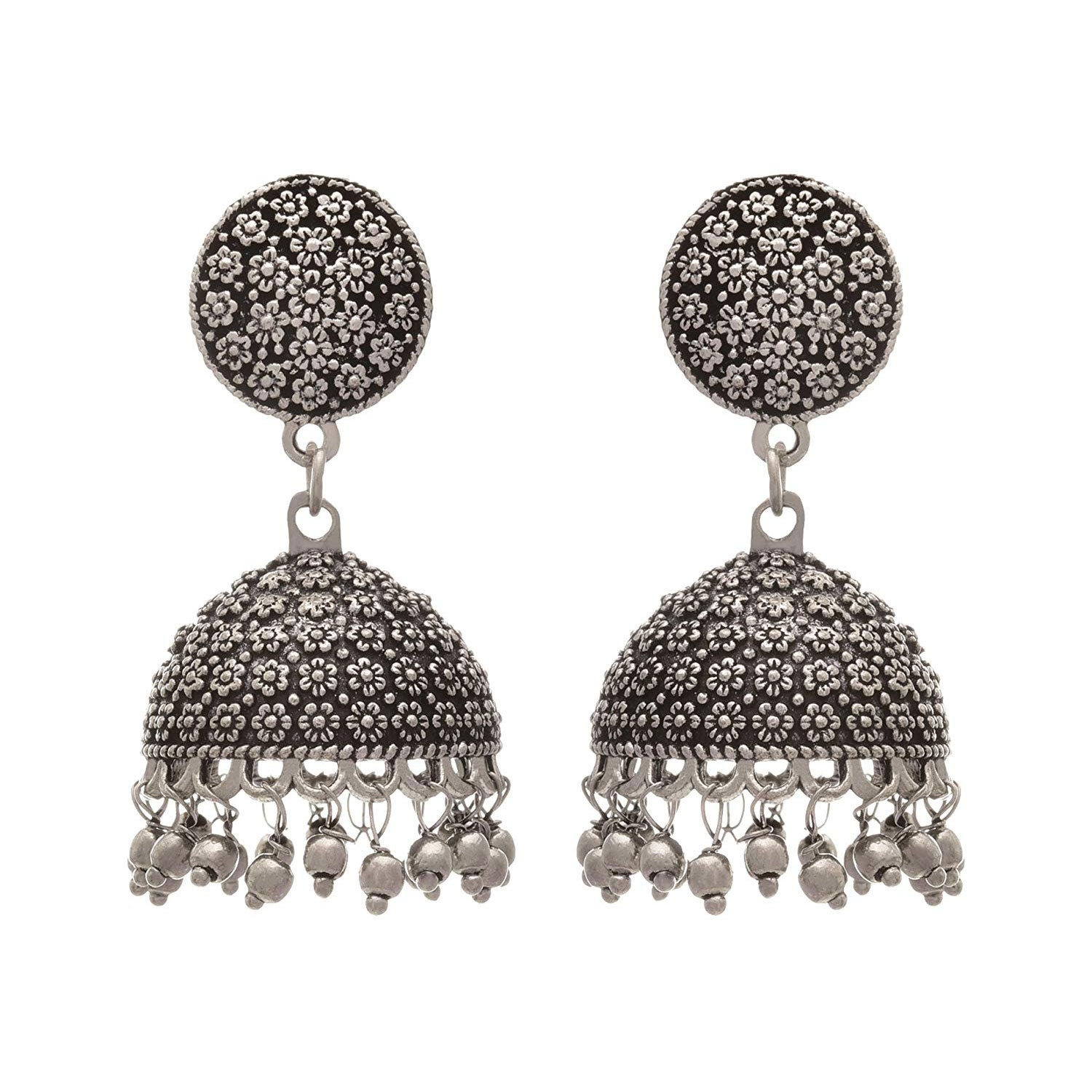 JFL - Jewellery for Less brass Jhumki Earring for Women and Girls