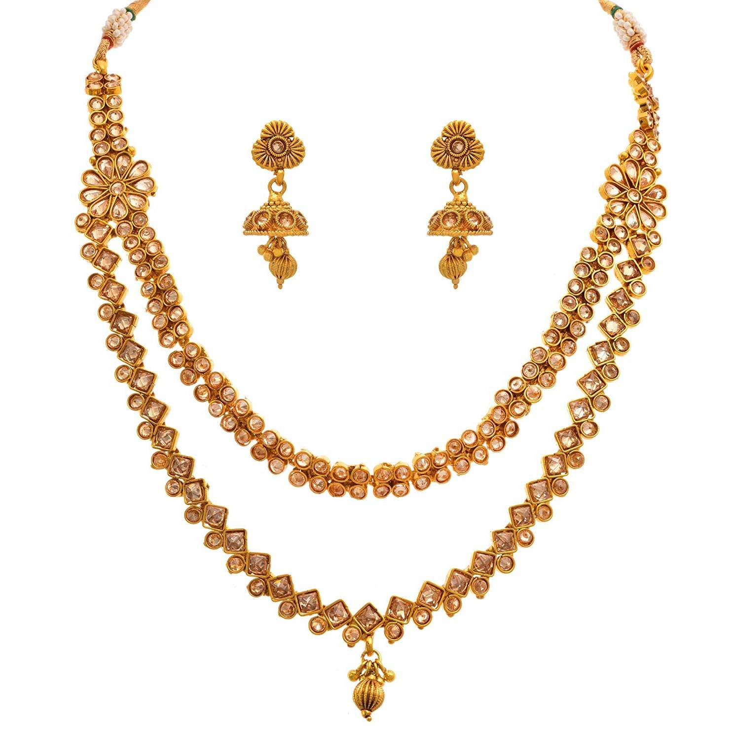 11de43112fa jewellery Necklace set for women & girls – JFL - Jewellery for Less