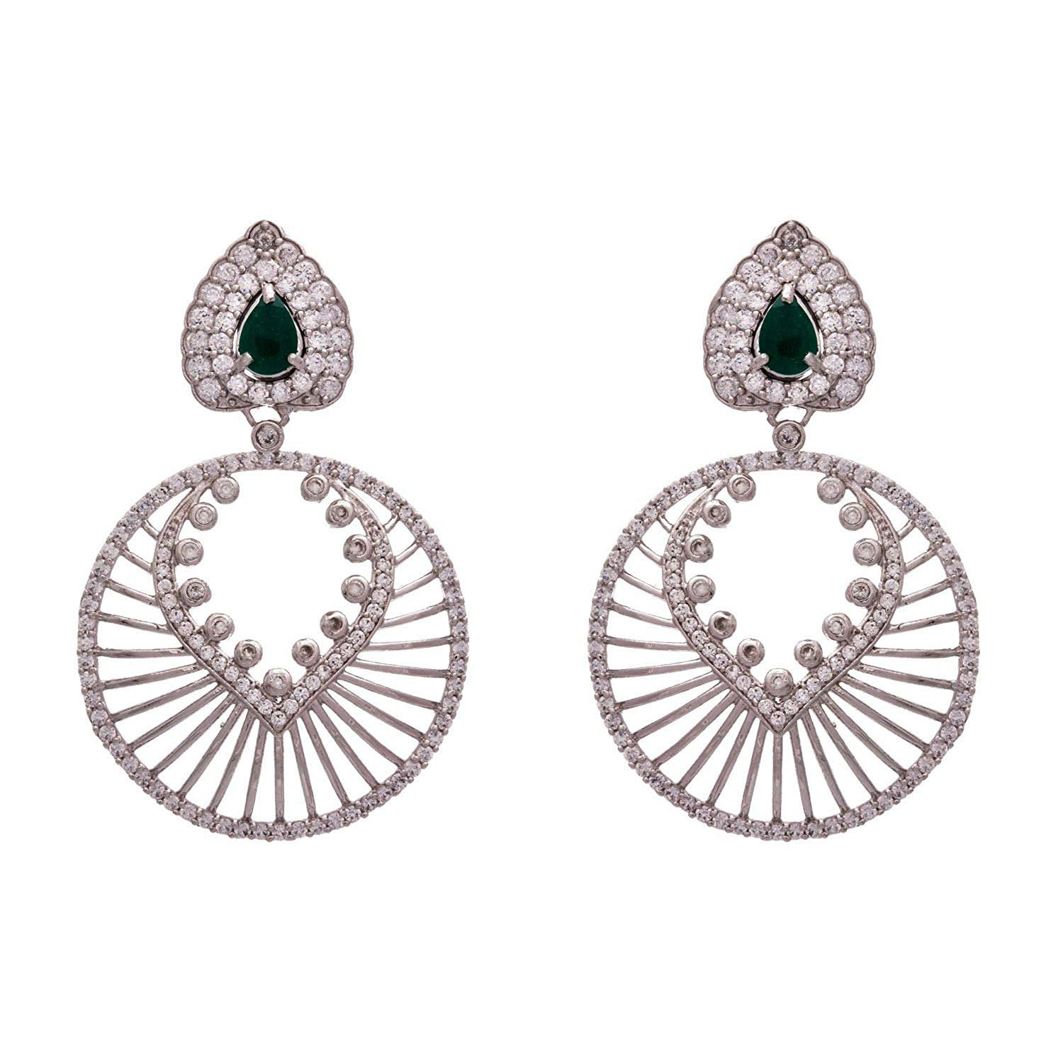 Dazzling Awesome American Diamond Designer Earring.
